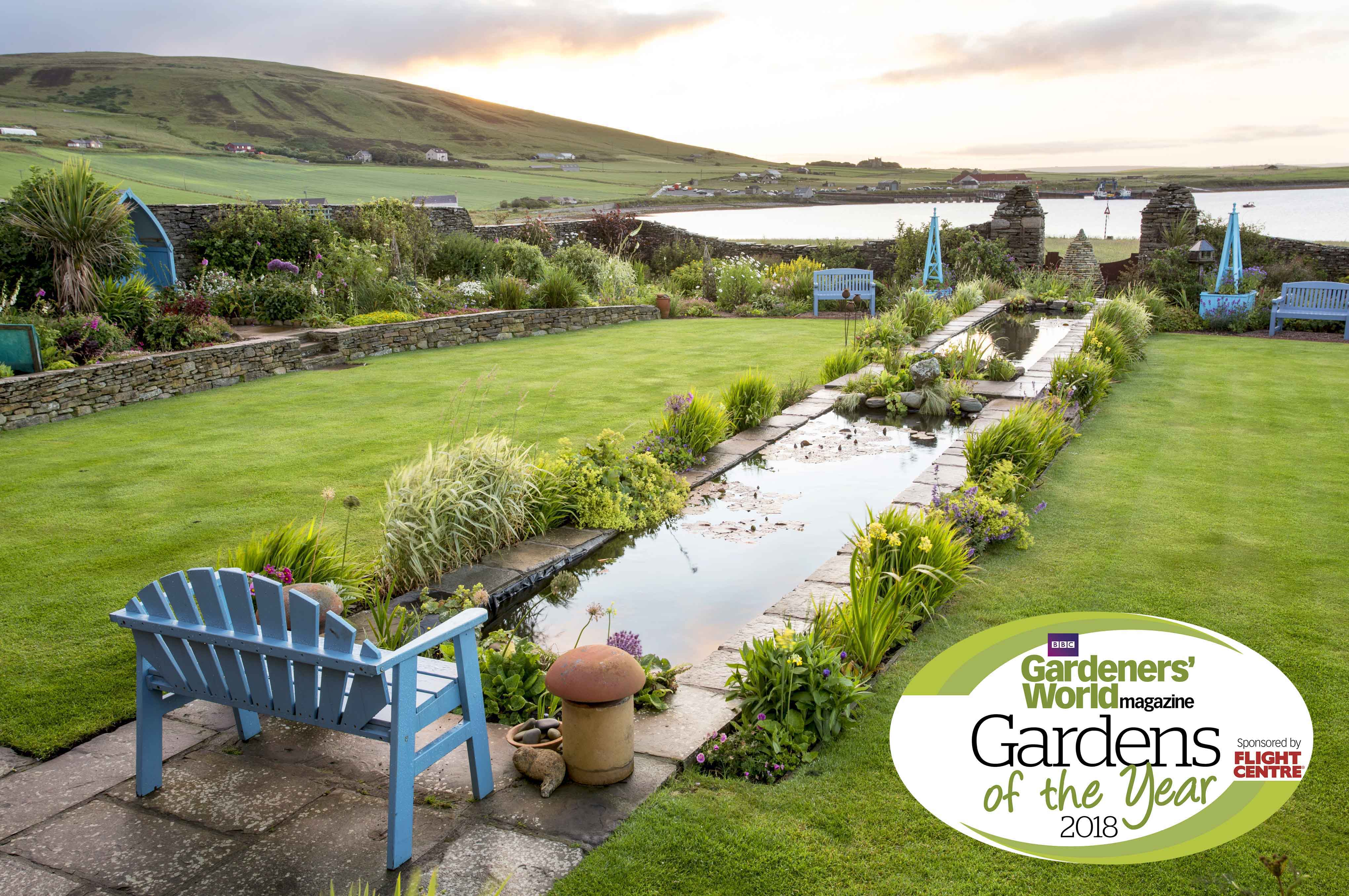 Caroline Critchlow Winner Challenging Plot CategoryGardeners' World Garden of the Year Competition 2017 Photographer Paul Debois