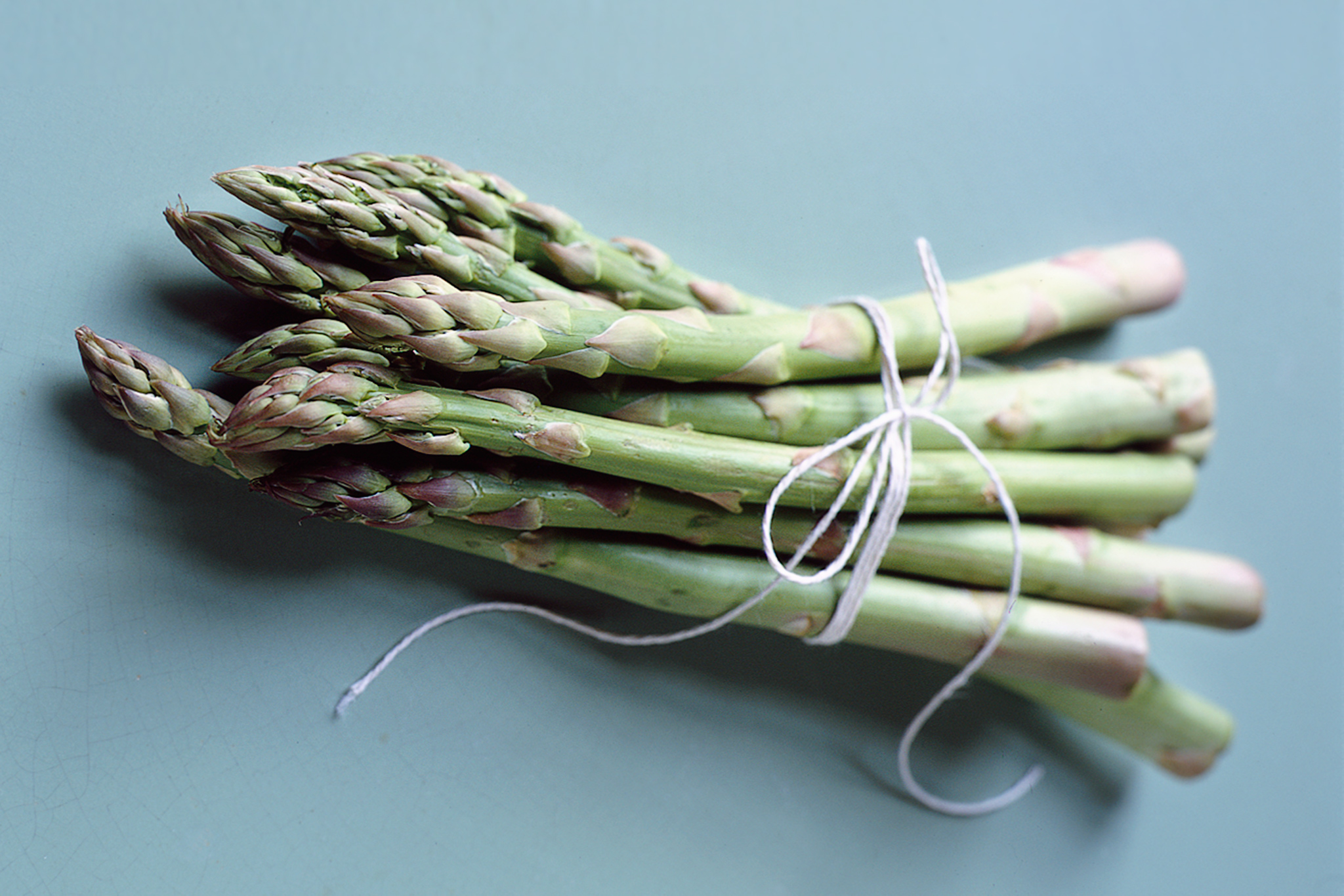 Asparagus. Photo by Simon Walton, courtesy of BBC Good Food Magazine and www.bbcgoodfood.com