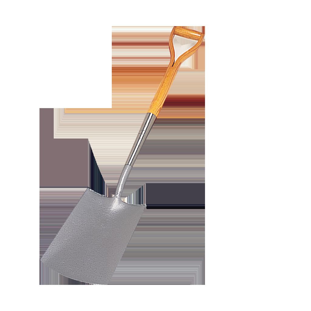 Spade cut out