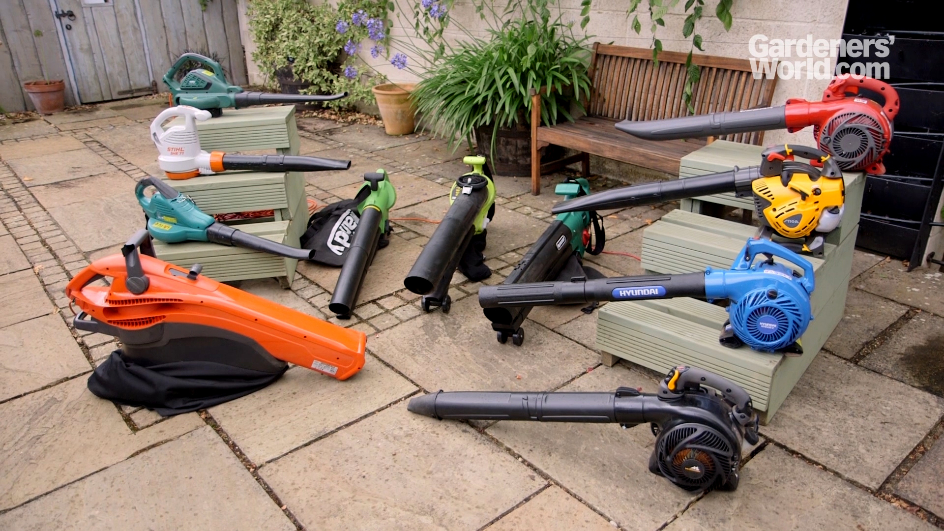 Leaf blowers Buyers Guide video