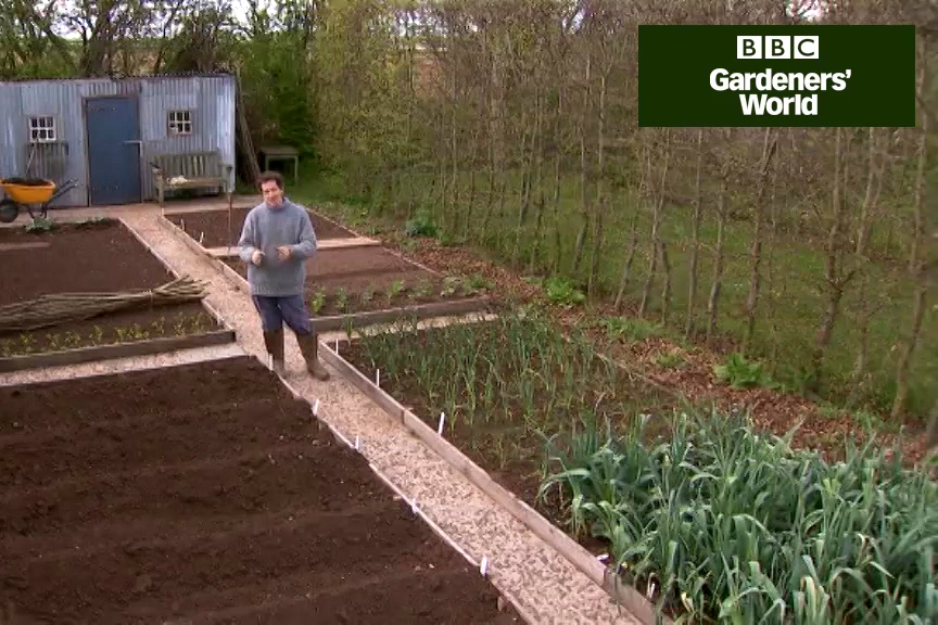How to pracise crop rotation with veg video