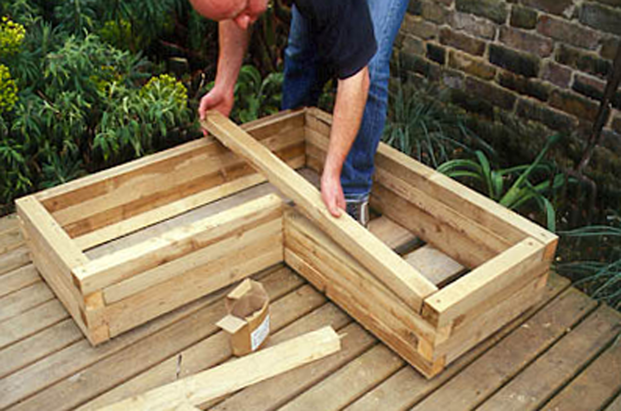 Creating A Wooden Planter