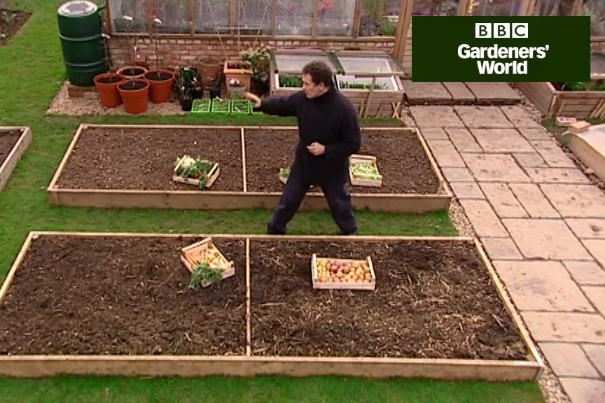 How to practise crop rotation video