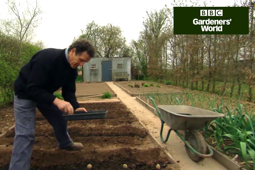 Monty Don potato trial part one video