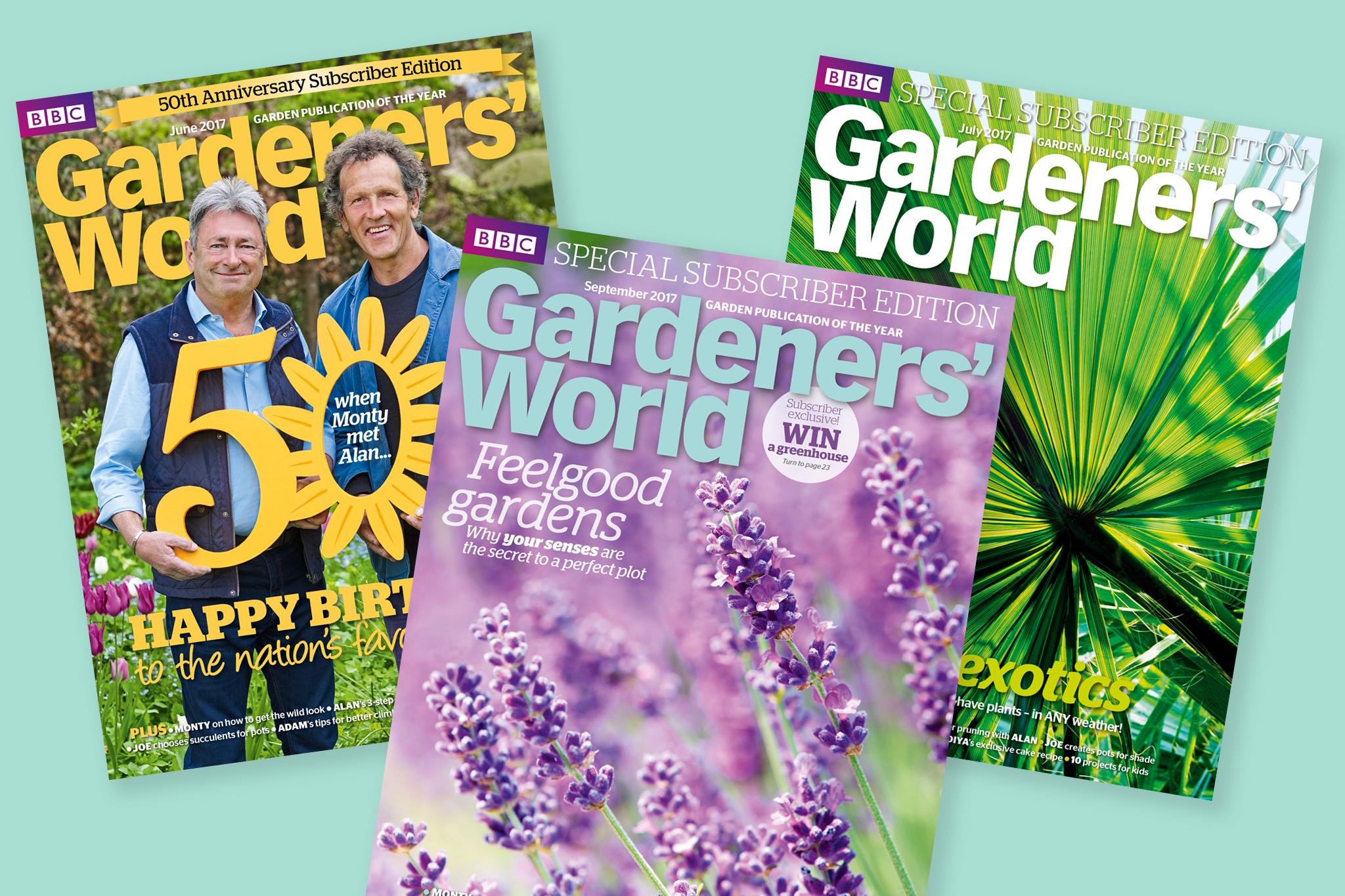Subscribe To Gardenersu0027 World Magazine