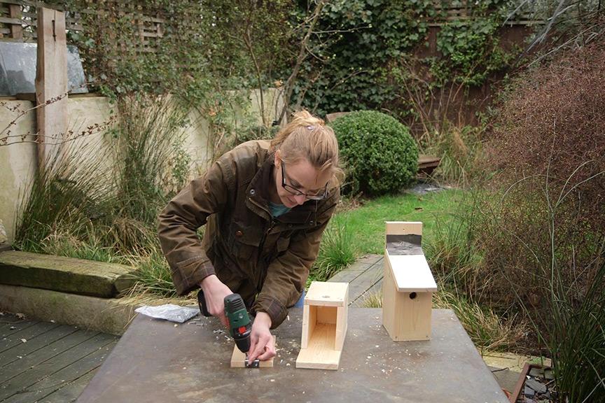how to make a bird box