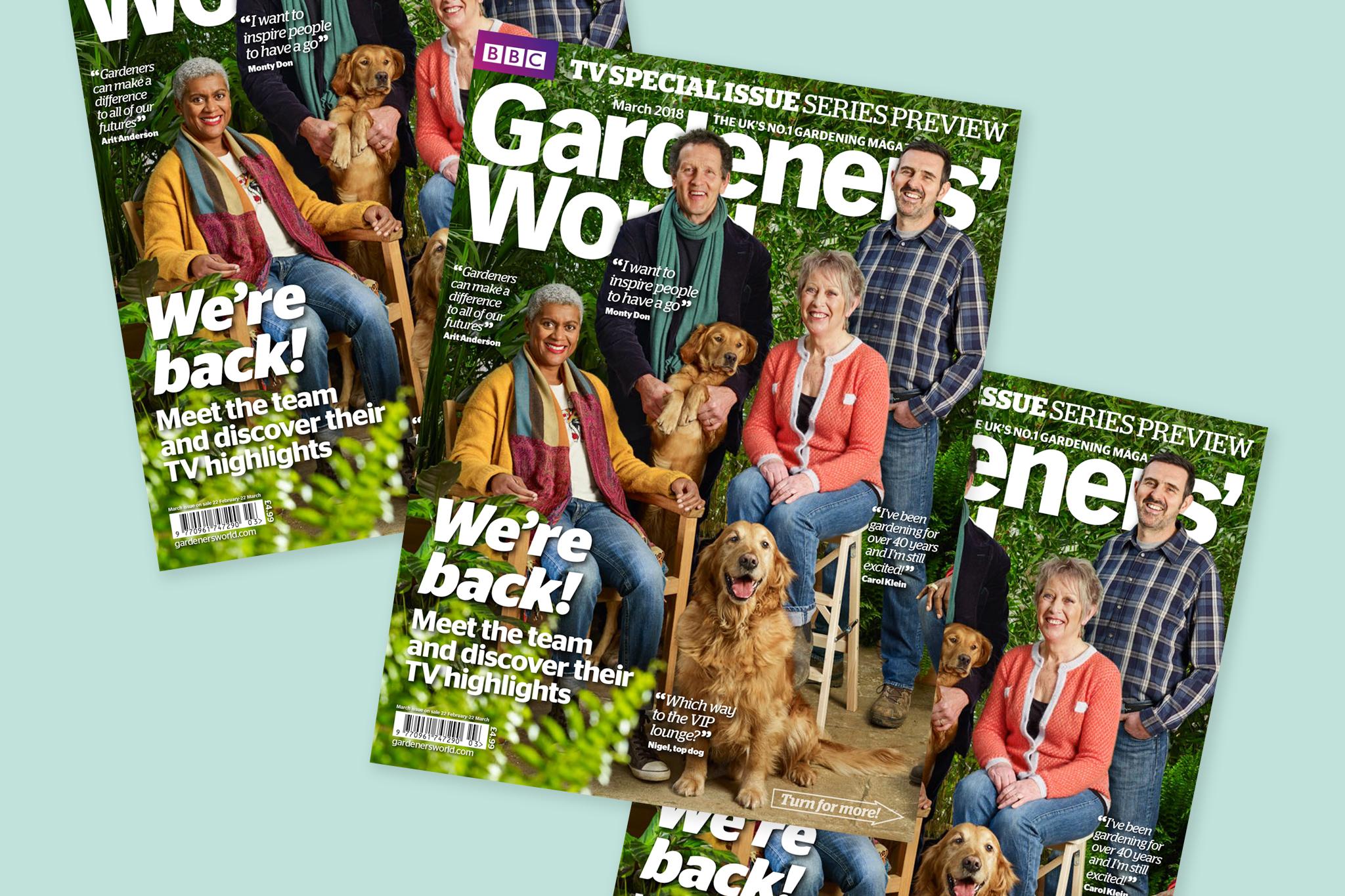 BBC Gardeners' World Magazine March 2018
