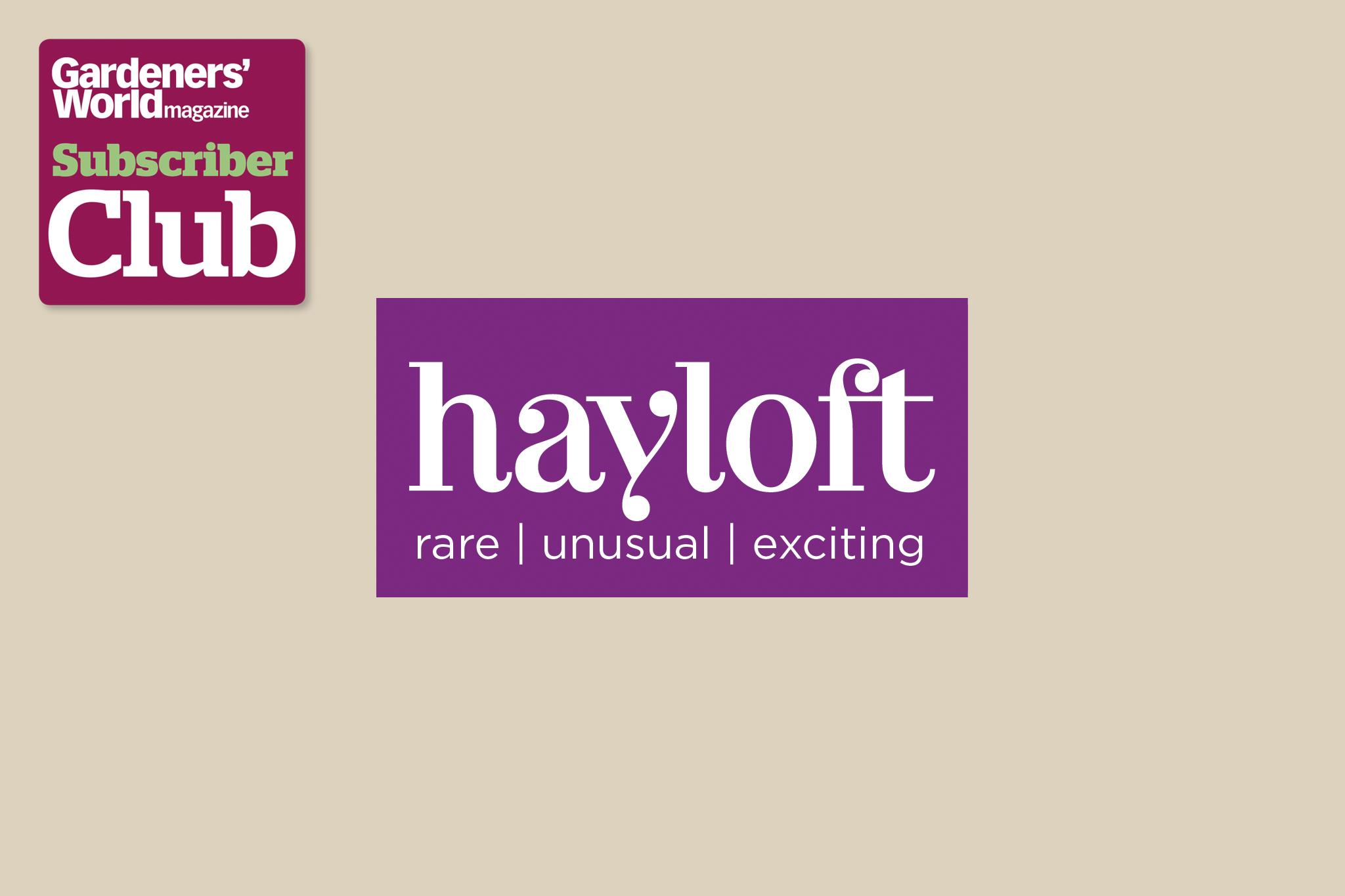 Hayloft BBC Gardeners' World Magazine Subscriber Club discount