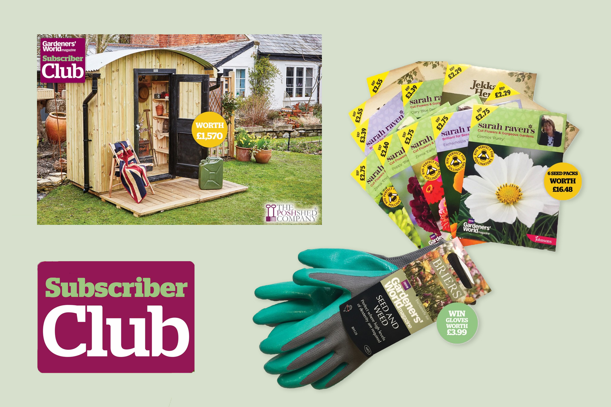 BBC Gardeners' World Magazine exclusive, subscriber-only competitions
