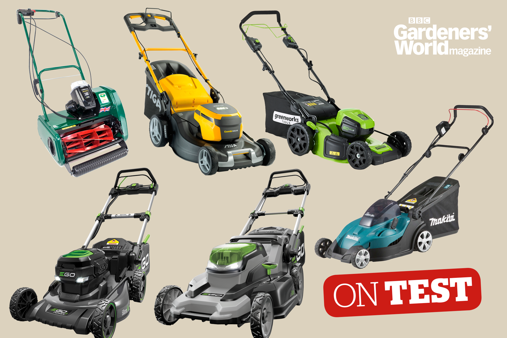 On Test - Cordless mowers (large lawns)