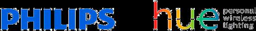 Philips & Philips Hue logos