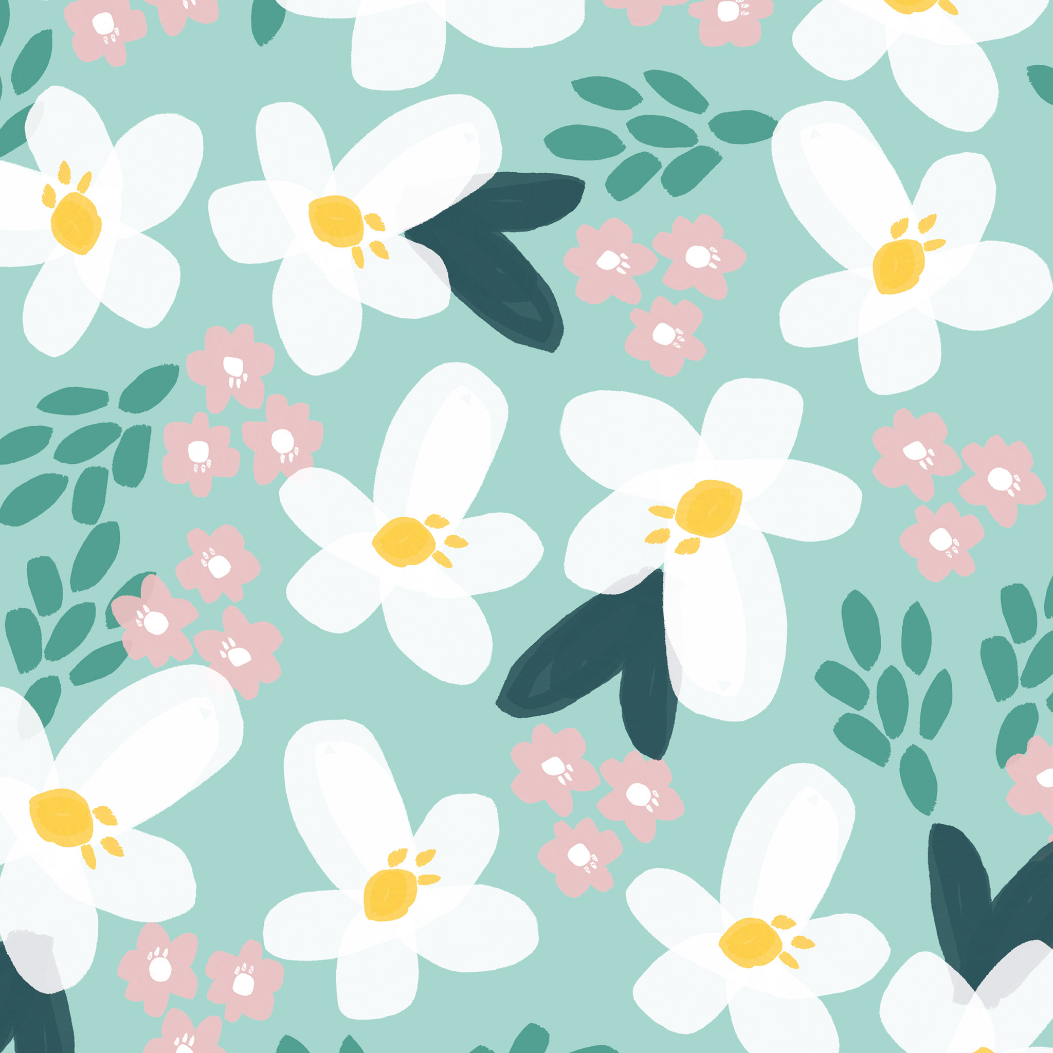 download our free summer flower wallpaper for your ipad, phone or
