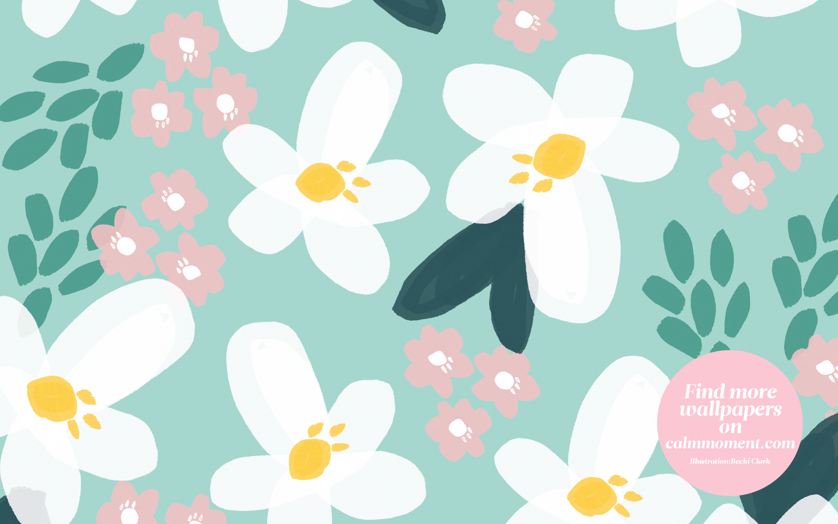 Download Our Free Summer Flower Wallpaper For Your Ipad Phone Or