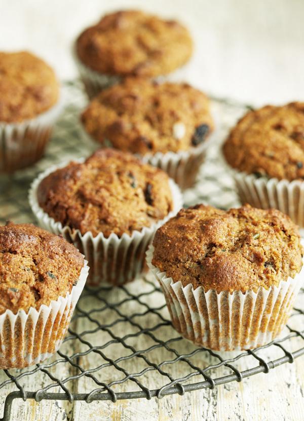 Seeded bran muffins