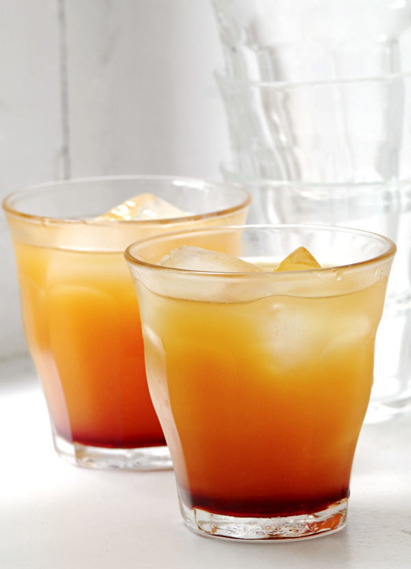 A clementine 'last minute' cocktail
