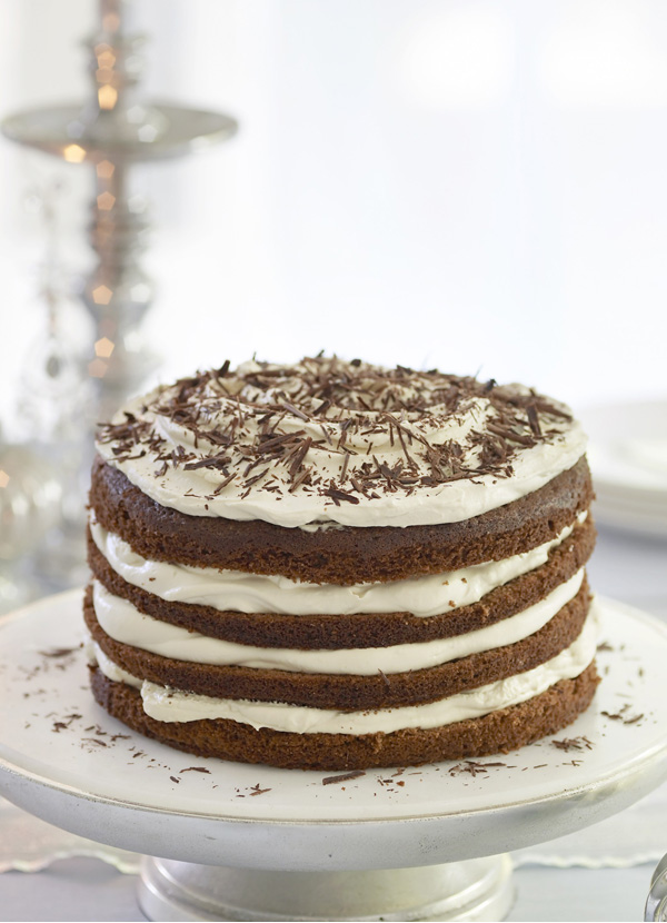 Tiramisu Cake Recipe with Chocolate