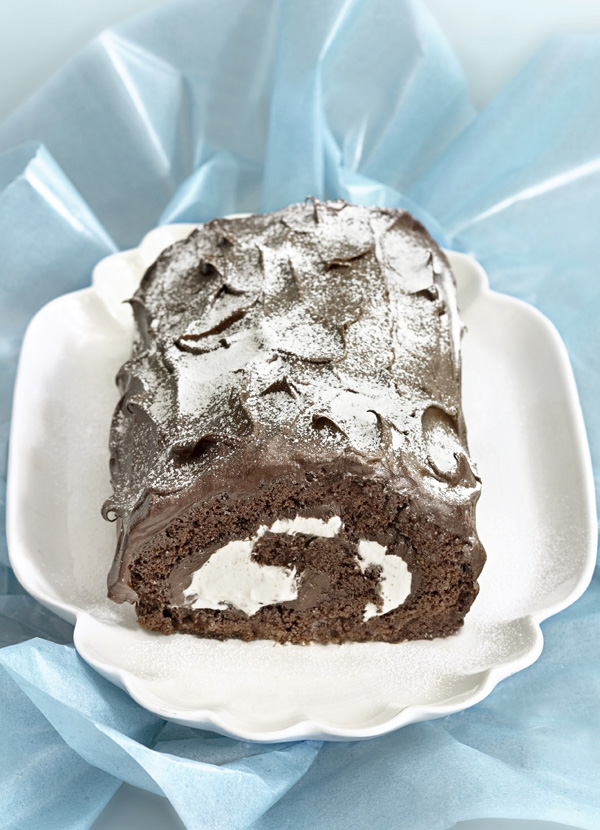 Yule Log Recipe With Baileys Cream