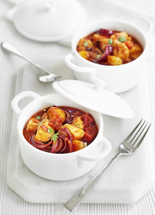 Pork, chilli and bean stew