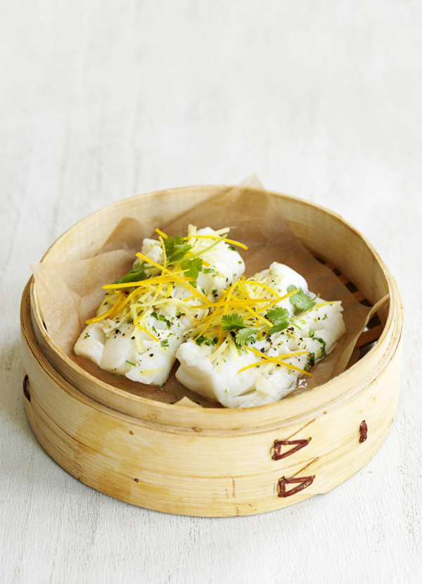 Steamed Fish Recipe With Ginger and Orange