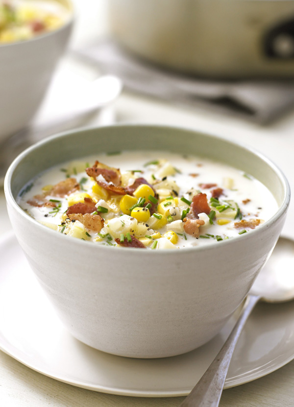 Corn Chowder Recipe With Bacon