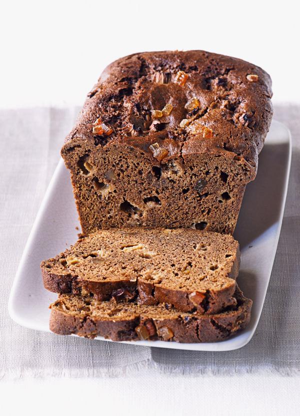 Rhubarb and Ginger Loaf Cake Recipe