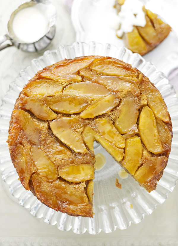 Apple Cake Recipe with Custard