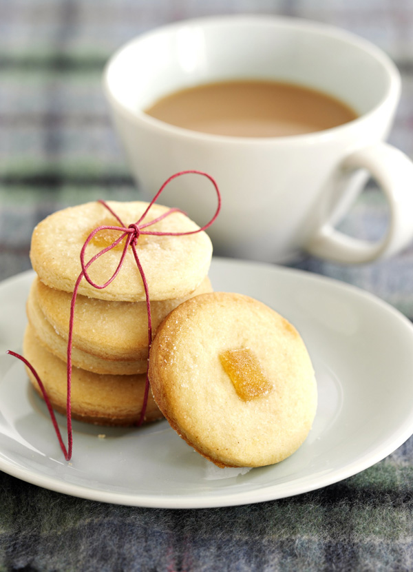 Shortbread Recipe for Ginger Shortbread Cookies