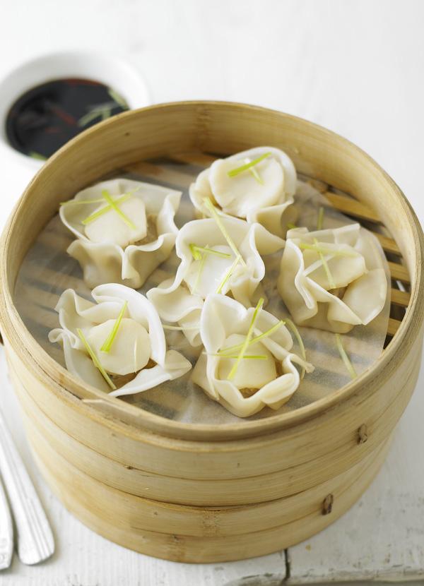 Scallop Dumpling Recipe with Pork