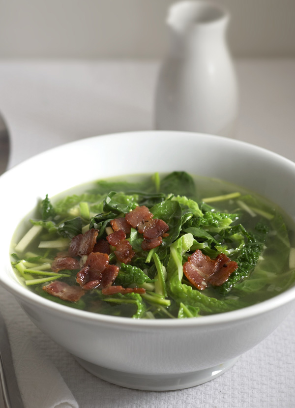 Verdant soup