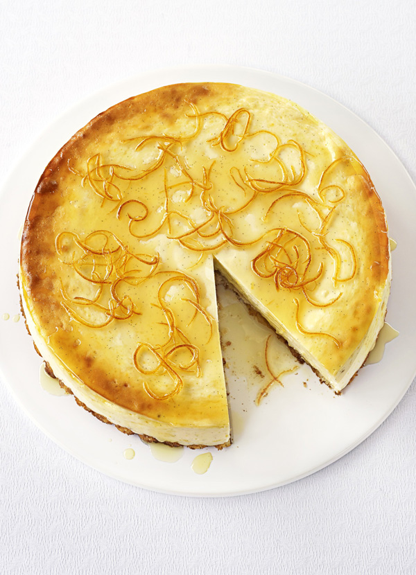 Lemon Cheesecake Recipe With Vanilla