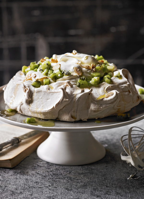 Elderflower and Kiwi Pavlova Recipe