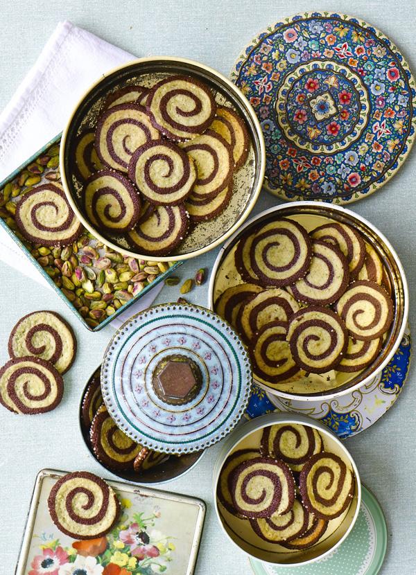 Pistachio Pinwheel Cookie Swirl Recipe