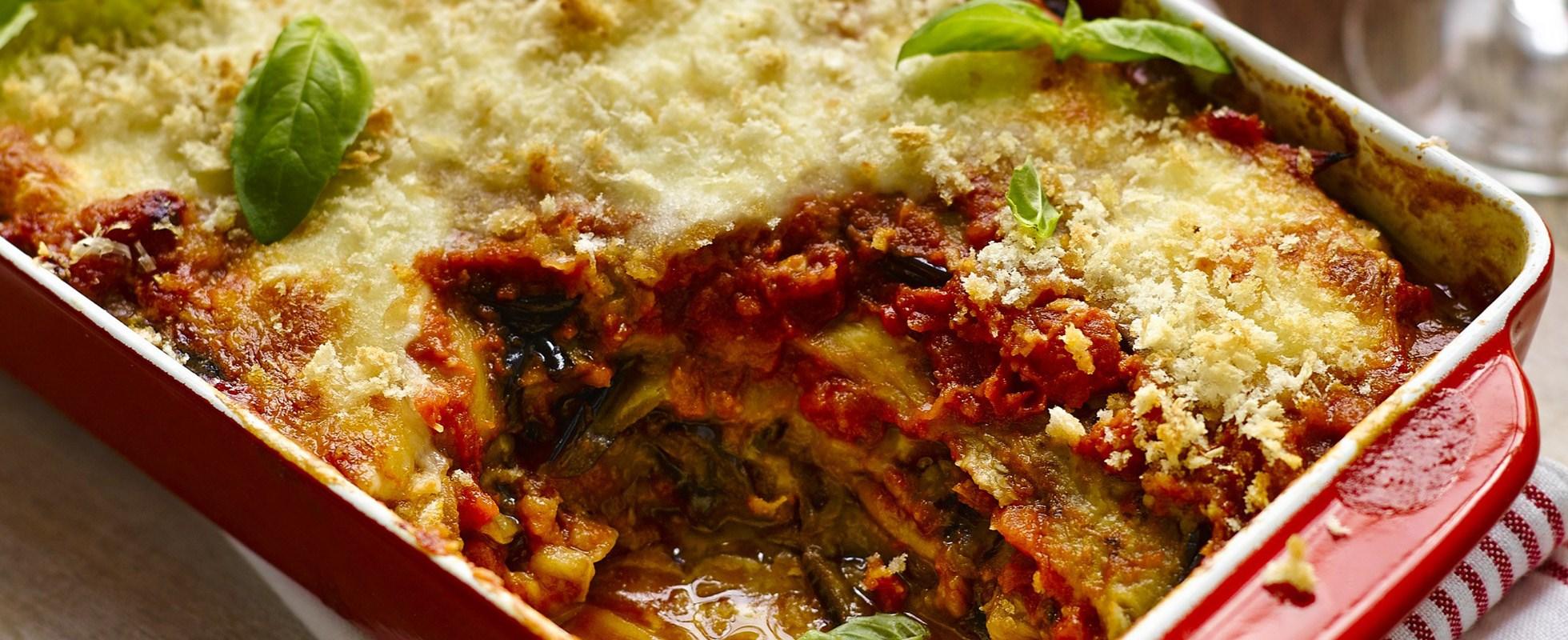 aubergine parmigiana