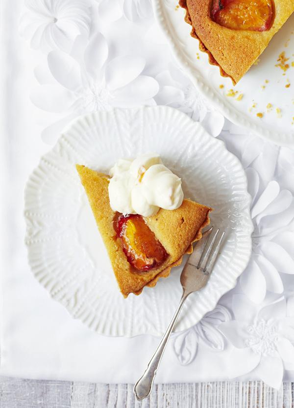 Peach, Almond and Mascarpone Tart Recip
