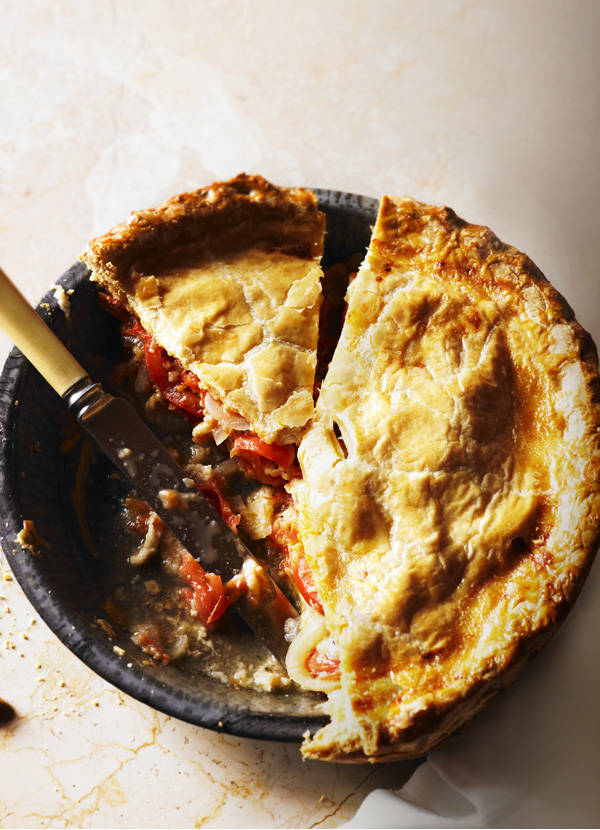Cheese and Tomato Pie Recipe