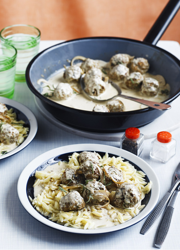 Pork Meatballs Recipe With Sage