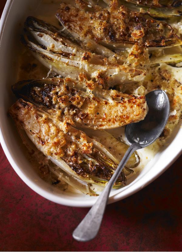 Chicory gratin