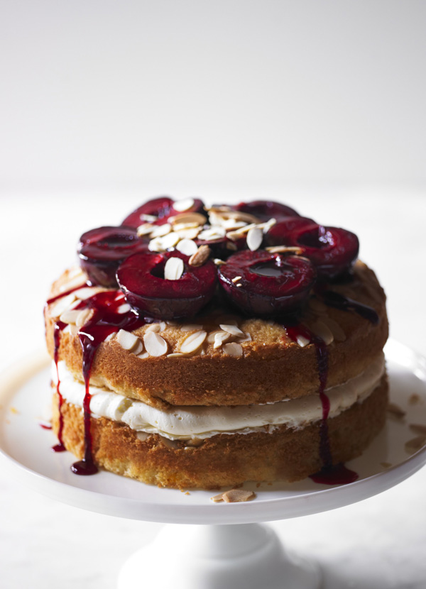 Sloe Gin Layer Cake