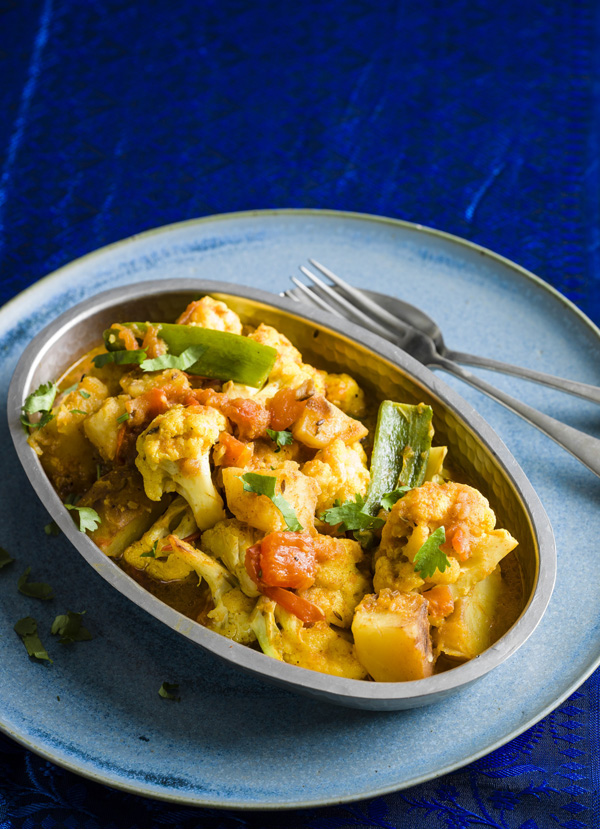 Potato and cauliflower curry recipe