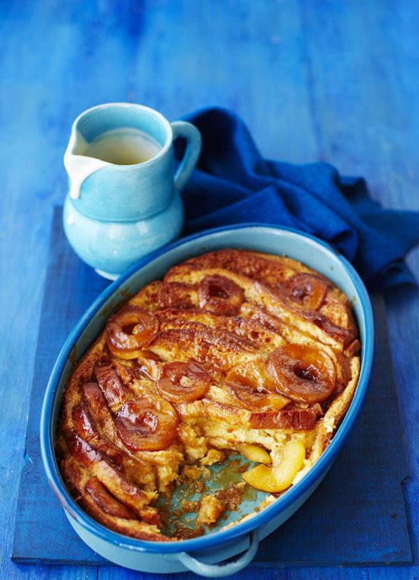 Toffee Apple Brioche Bread and Butter Pudding Recipe
