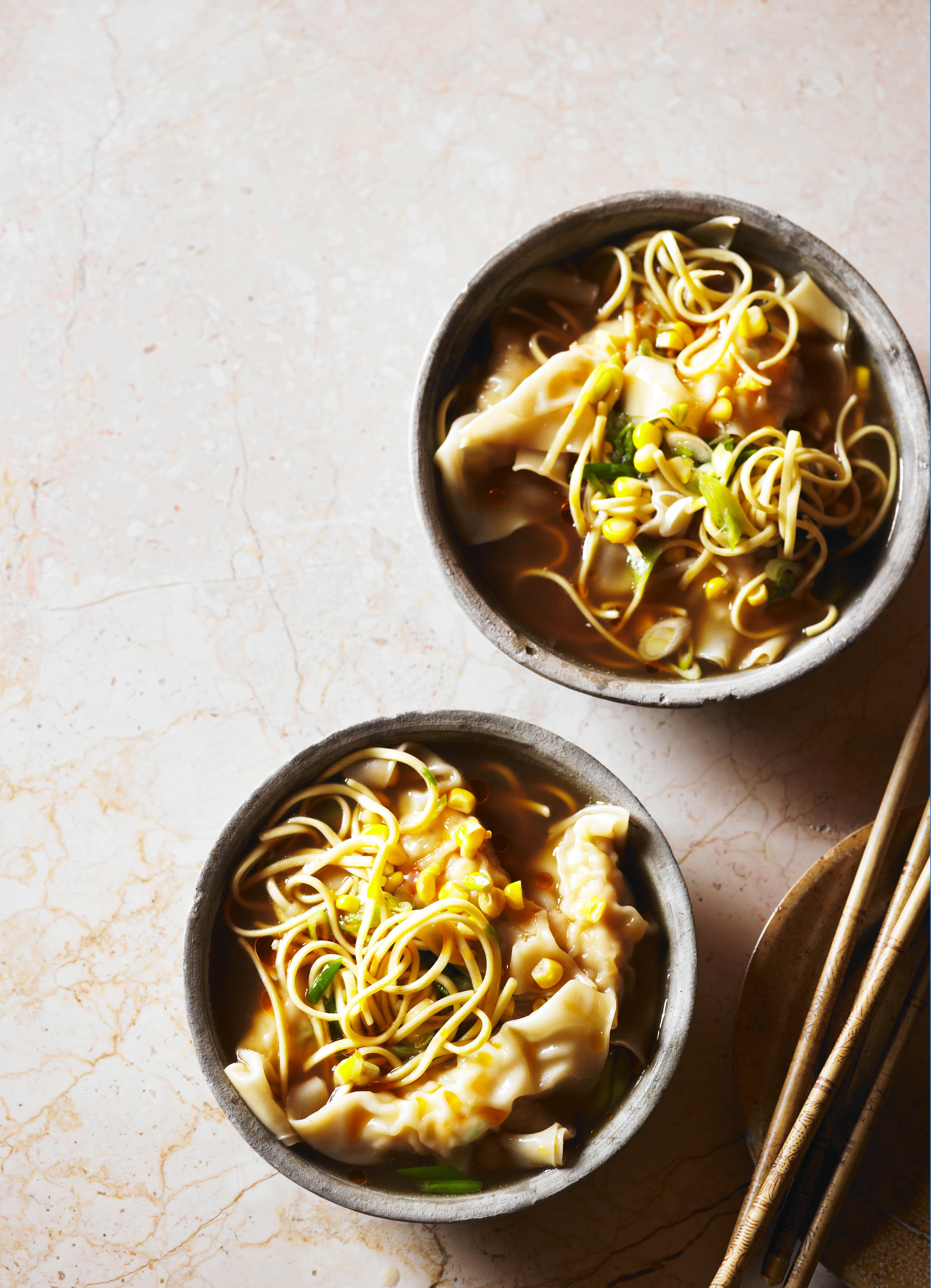 Easy Chicken and Dumplings Noodle Soup Recipe