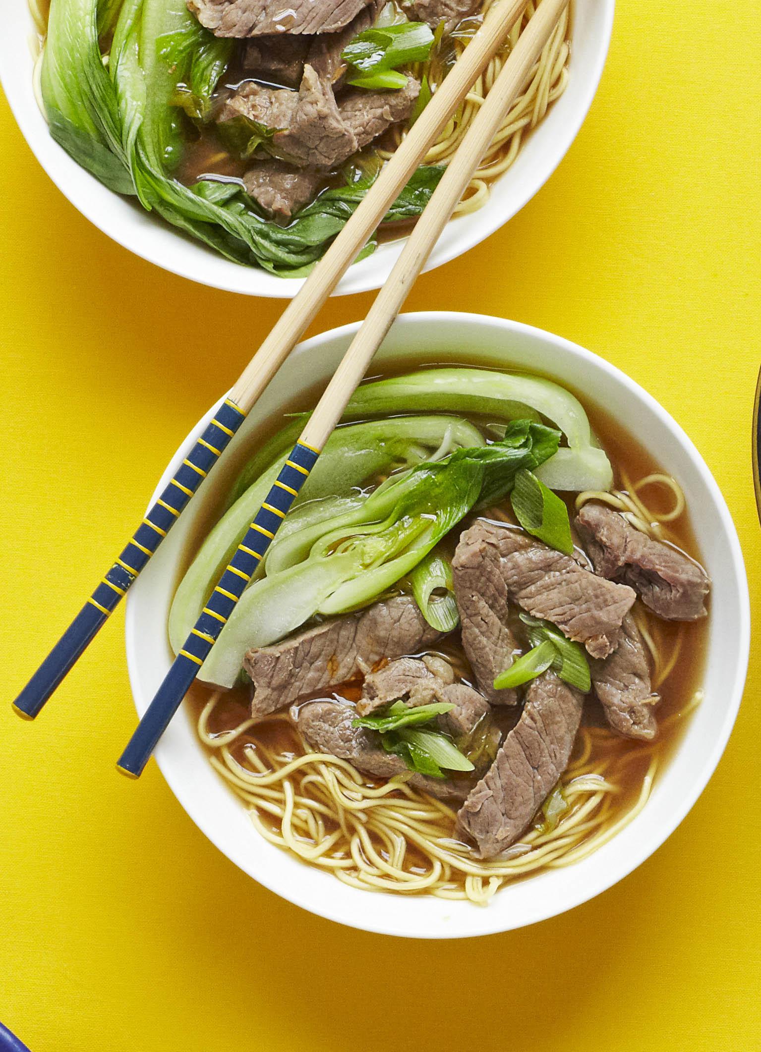 Beef Noodle Soup Recipe