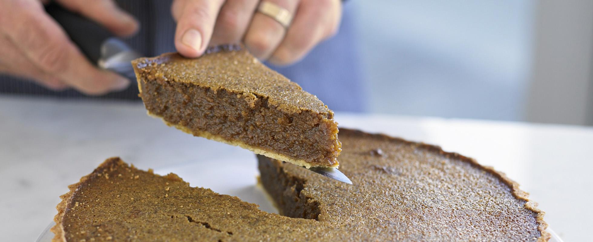 Best ever treacle tart