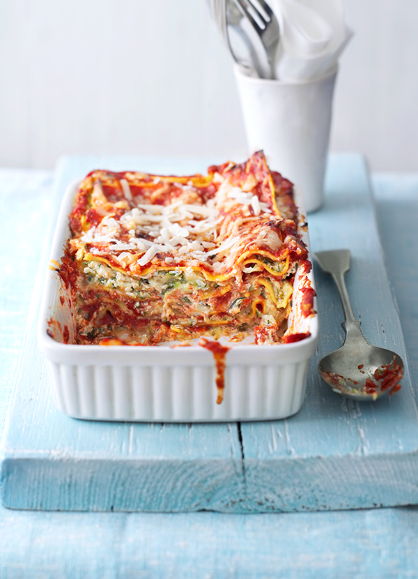 Quick Courgette Vegetarian Lasagne Recipe