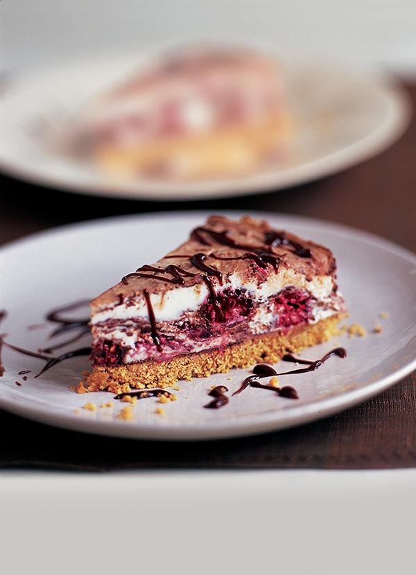 Raspberry And Chocolate Cheesecake Recipe Olive Magazine
