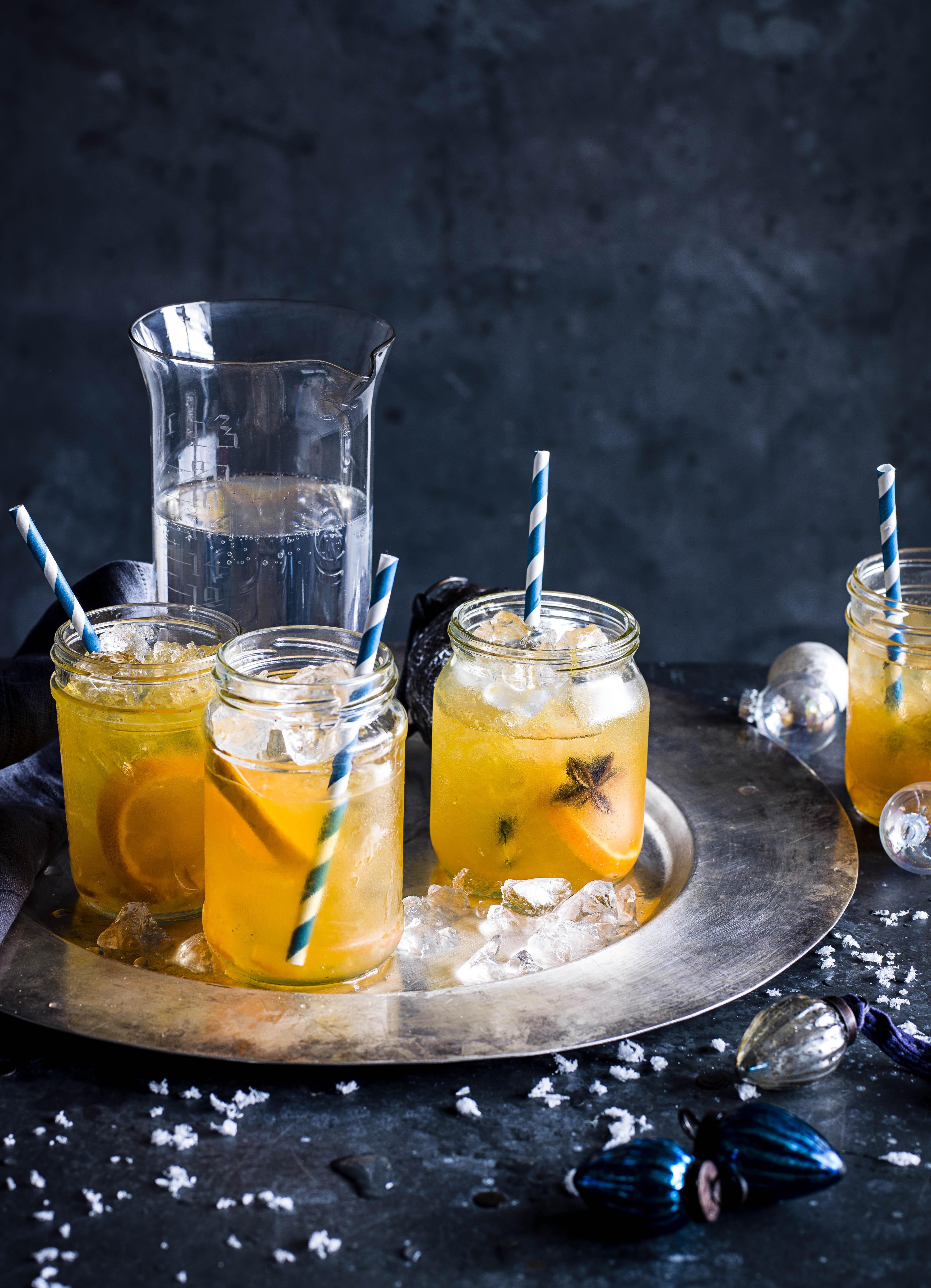 Mojito Recipe with Marmalade and Mandarin