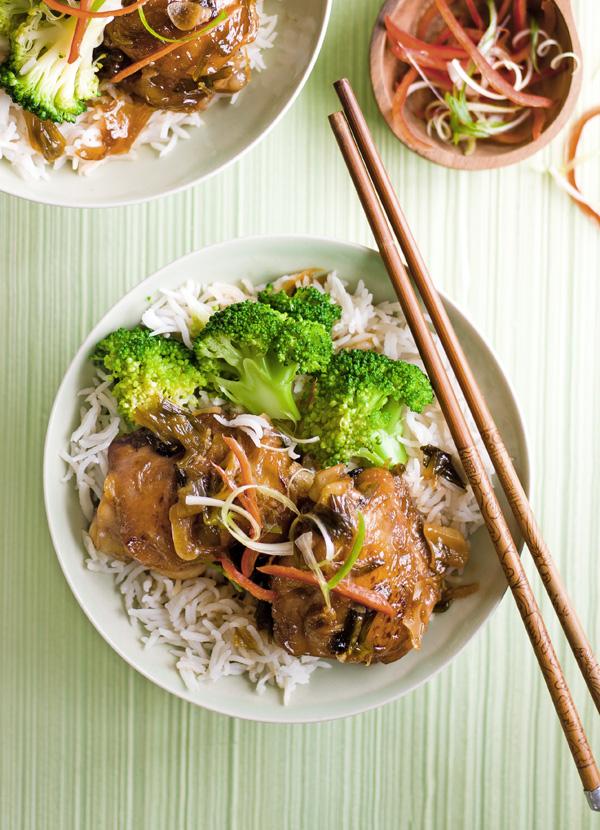Chinese Red-Braised Chicken Recipe