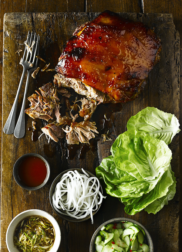 Korean Slow Roast Pork Shoulder Recipe