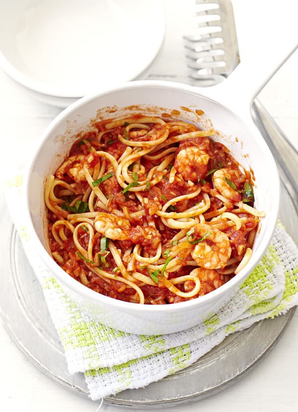 Spicy Prawn Linguine Recipe
