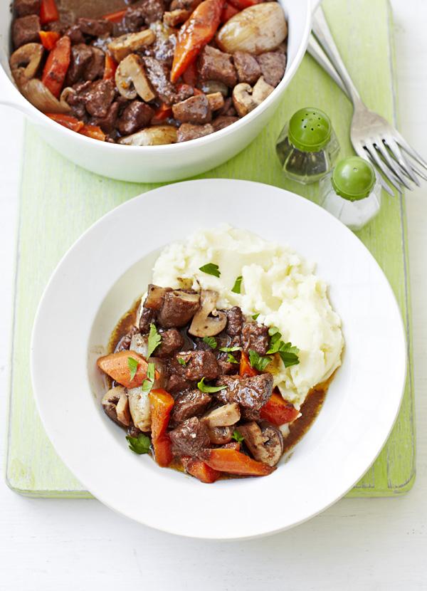 Low Calorie Beef Bourguignon Recipe